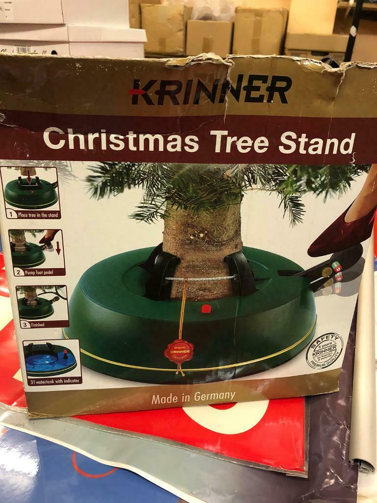 Heavy Duty Christmas Tree Stand.Krinner Heavy Duty Christmas Tree Stand In Lurgan County Armagh Gumtree