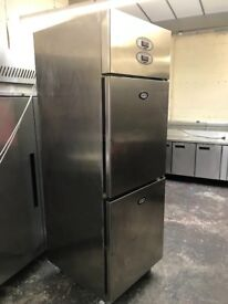 Foster commercial fridge and freezer combined