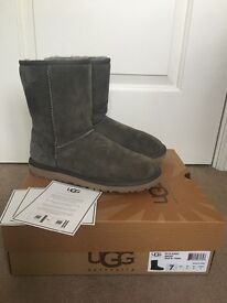 Ladies UGG boots, size 5