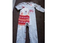 BNWT Christmas knitted onesie