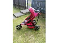 Phil & Ted double sports buggy/ pram / pushchair