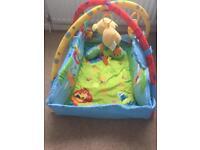 Bright stars baby playmat/gym