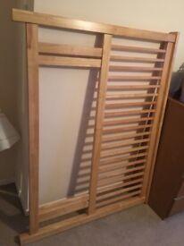 Solid Oak Headboard for double bed