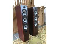 Hi Fi Floorstanding Speakers. Monitor Audio Br6 Amplifier Cables Center Speaker