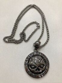 Heavy duty Stainless Steel Harley Davidson Necklace - New