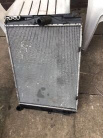 BMW 1 Series Radiator Pack Cooling And AC Radiators And Brackets N45 Petrol 1.6