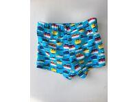 Boys mini club swimming trunks - size 9-12m - unused