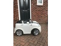 Child electric Mini Cooper S, 12v, 2 seater
