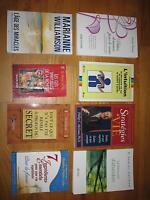 ,Livres francais et anglais/French and english books
