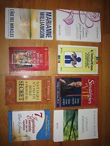Livres francais et anglais/French and english books