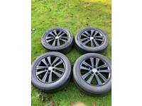 """17"""" 18"""" VW Transporter T6 T5 Cascavel Alloy Wheels Tyres"""