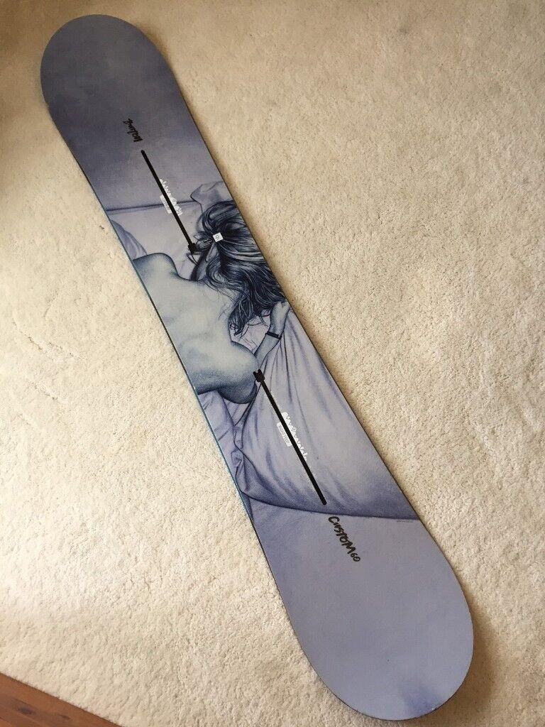 ff0c47066c0 Rare Burton Custom Twin 160cm Snowboard