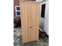 Alstons Alderley Oak Wardrobe x2