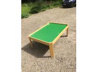 Kids play table for train set, dolls' house or Lego etc. 120 X 80 cm