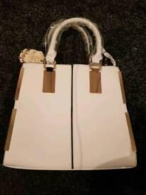 Brand new white bag adjustable strap £10