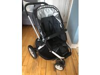 Second hand Quinny stroller including cosy toes