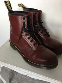Doc Martens Size 8 Ox Blood