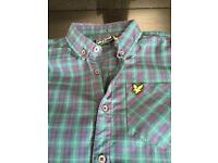 Lyle & Scott shirt, age 12 - 13 yrs , exc conf/ like new