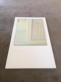 Symphony Wall Mirror White