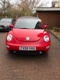2005 Volkswagen Beetle 2.0 Mannual