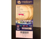 ICC CHAMPIONS TROPHY FINAL TICKET