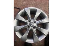 Vauxhall Corsa alloy of new shape £50