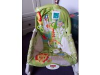 Fisher price infant to toddler rocking seat with vibration setting