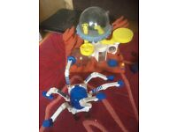 Space toys fisher price/happyland