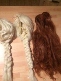 Princess wigs