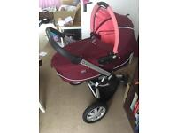 Quinny Pram & seat with car-seat if required.
