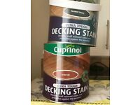 Cuprinol ultra tough wood/ decking stain