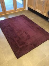 Rug for sale - Deep purple, good quality