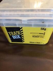 Box of nails- 5kg