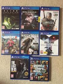 PS4 games bundke