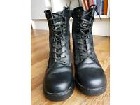 Army cadet/patrol boots size 9