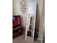 Four wardrobe doors with mirrors. Needs to go asap.