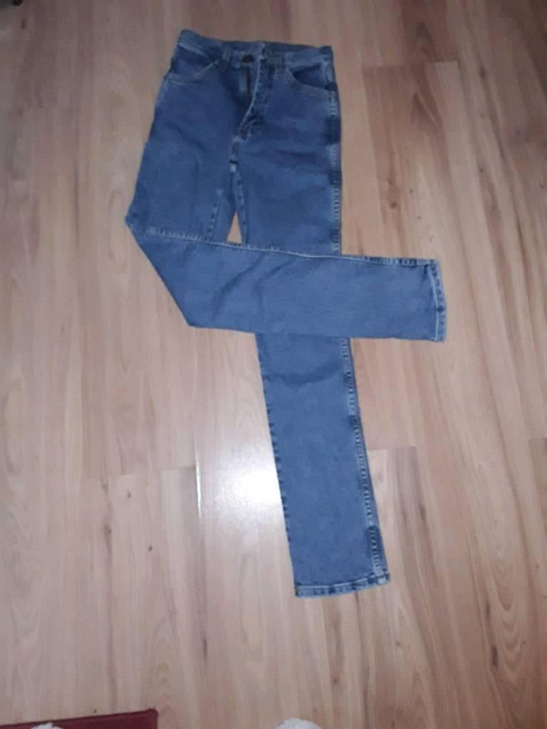 Ladies wrangled jeans