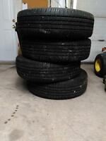 Set of four tires 200.00