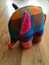 Elmer Patchwork soft toy