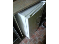 under counter fridge with freezer box