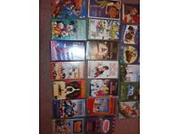 Children's vhs tapes used good con.