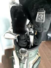 Used golf clubs and bag good condition