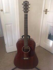 Fender CD-140S All Mahogany Acoustic Guitar