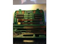 BBQ tools in Carry bag NonStick
