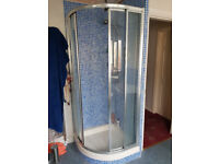 800mm x 800mm Shower enclosure and tray