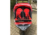 Out n about 360 double buggy in excellent condition