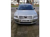 Toyota AVENSIS full service and MOT history, low milage