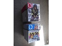 104 from the first 120 issues of Q Magazine - interviews, photos, reviews from 1987 to 1997