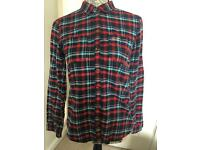 Hollister checked shirt small