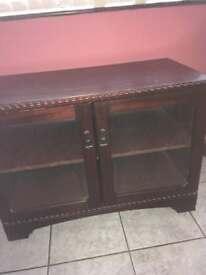 Side mahogany cabinet